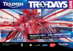 working undercover for Tridays 2011